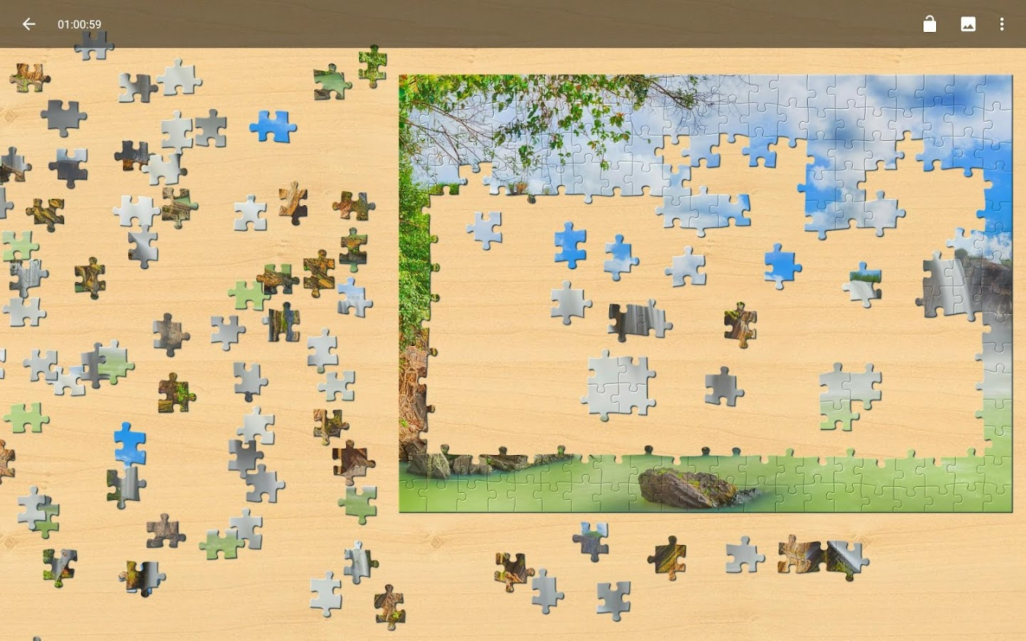 Landscapes Jigsaw Puzzles- screenshot