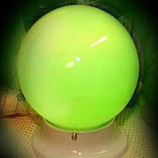 Glowing Crystal Ball - Halloween Craft Recipe