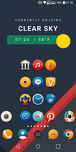 PixxR Icon Pack Screenshot Image