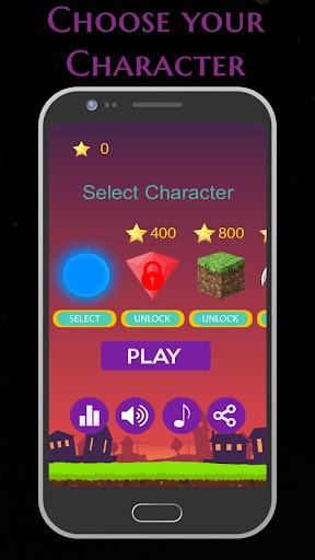 Rock Ball: Fall Down Ball Hop Tap Jumper screenshot 3
