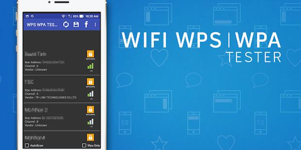 Wps Tester: miniatura da captura de tela