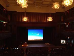 Photo: 二階席からのステージ