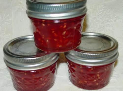 """Pam's Raspberry Mango Marmalade """"OMG, this is wonderful. I used lemon zest..."""