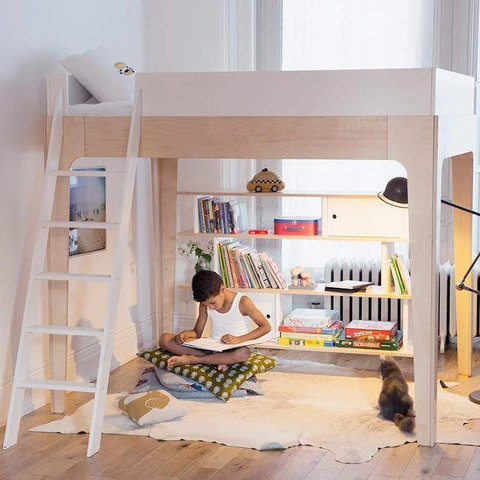 How To Organize A Room With Loft Bed What To Put Under A Loft Bed