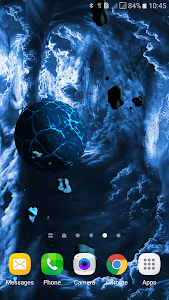 Asteroids 3D live wallpaper screenshot 1
