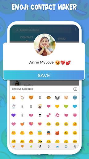 Emoji Contact Maker : Animoji maker 3.0 Screenshots 4
