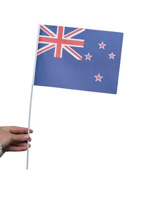 Pappersflagga, Nya Zeeland