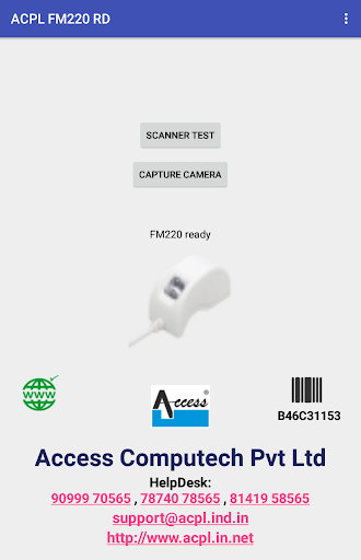 ACPL FM220 Registered Device Apk 2