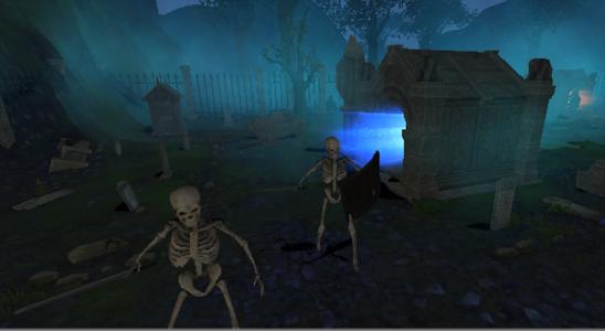 Graveyard - VR Cardboard screenshot 1