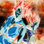 Dragon Z Super Saiyan Blue Warriors Icon