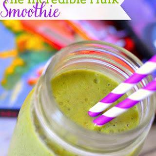 The Incredible Hulk Smoothie.