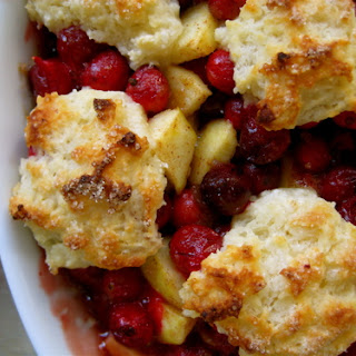 Cranberry Apple Cobblers
