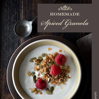 Homemade Spiced Granola