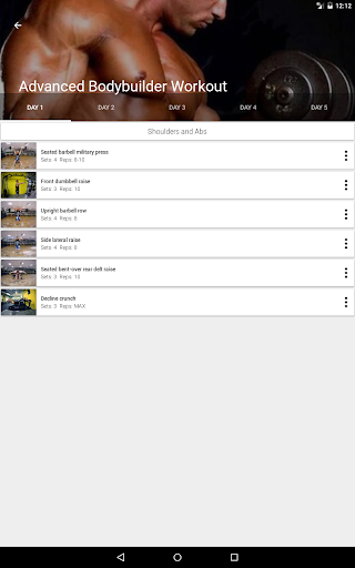 GymApp Pro Workout Log screenshot 12