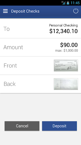 android Dort Federal Mobile Banking Screenshot 3