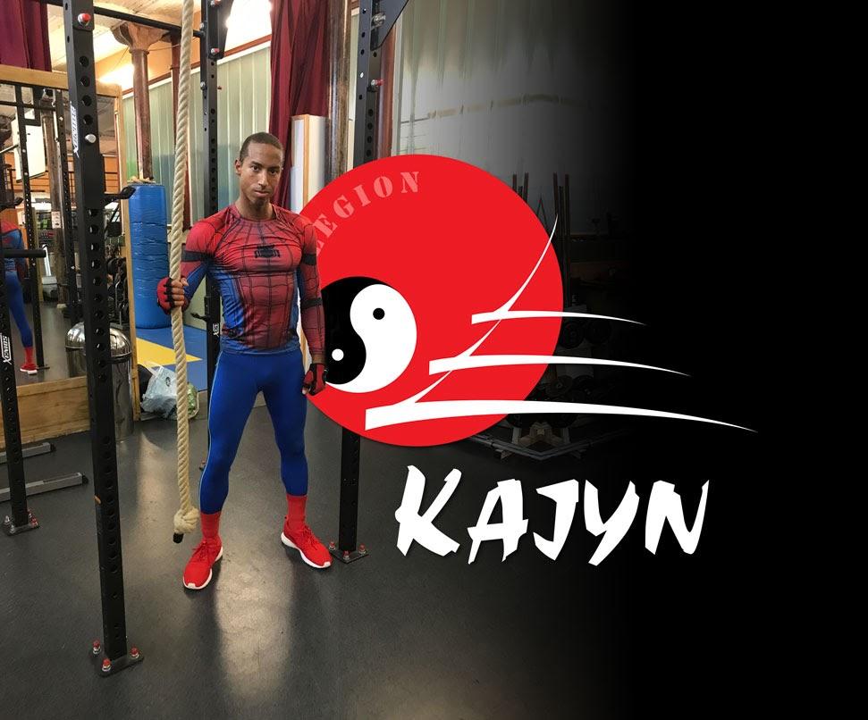 Hugues Spiderman Dieudonné prof de Spartan Workout au Kajyn Paris