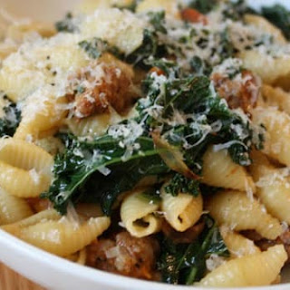 Pasta with Kale and Turkey Sausage