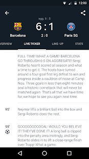 Download Onefootball Live Soccer Scores For PC Windows and Mac apk screenshot 3
