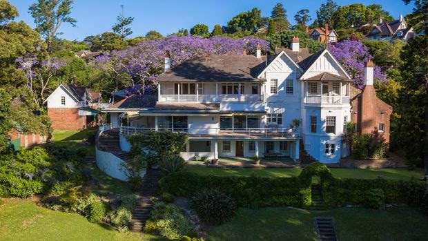 The Fairfax family owned Elaine in Point Piper for 126 years before it sold in April 2017
