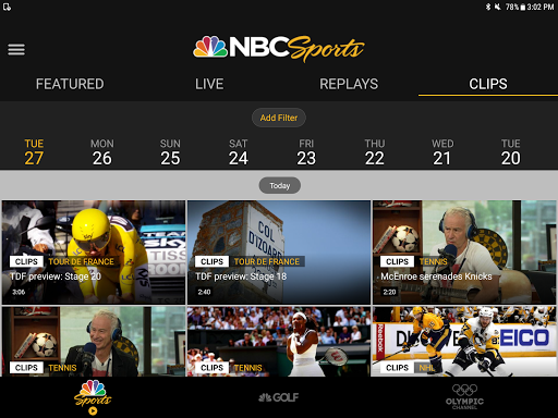 download nbc sports google play softwares