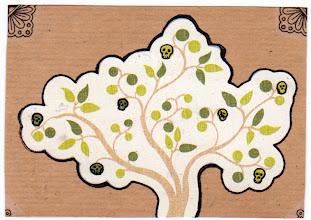 Photo: Wenchkin's Mail Art 366 - Day 235 - Card 235a