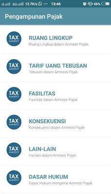 Pengampunan Pajak-Tax Amnesty - screenshot