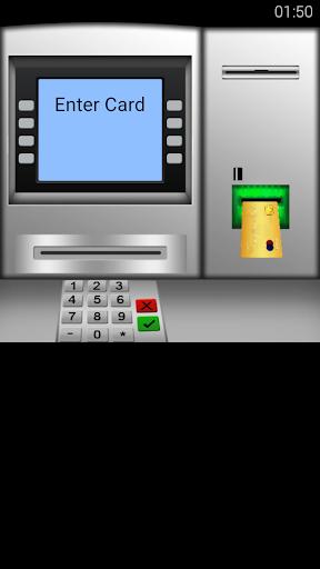 ATM取款和金钱模拟器