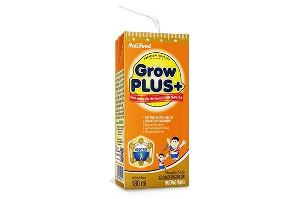 GROWPLUS+ cam – dinh dưỡng đặc chế cho trẻ chậm tăng cân
