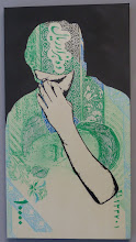 """Photo: Galerie Pretty Portal; Stencils Only 2016; ICY & SOT """"Demoralization"""""""