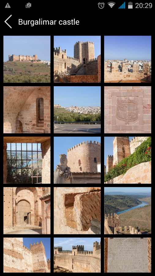 Castles and fortresses of Jaén- screenshot