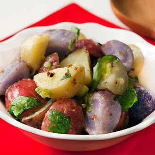 Red, White and Blue Patriotic Potato Salad