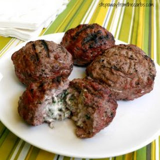 Herb Stuffed Burgers Recipe