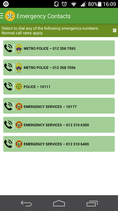 Tshwane Safety- screenshot