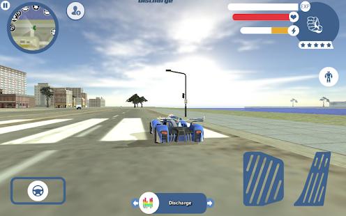 Tải Game Supercar Robot