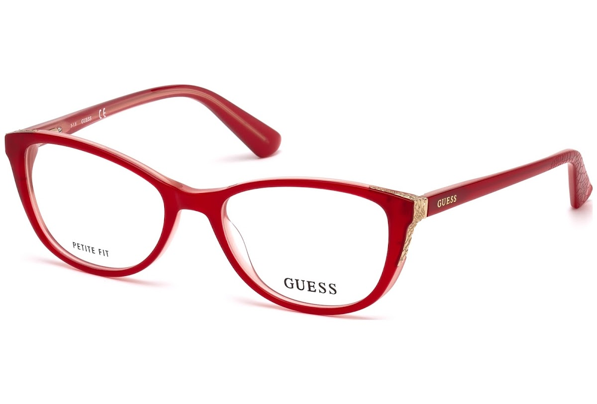 Buy Guess GU2589 C54 068 (red/other / ) Frames | opti.fashion