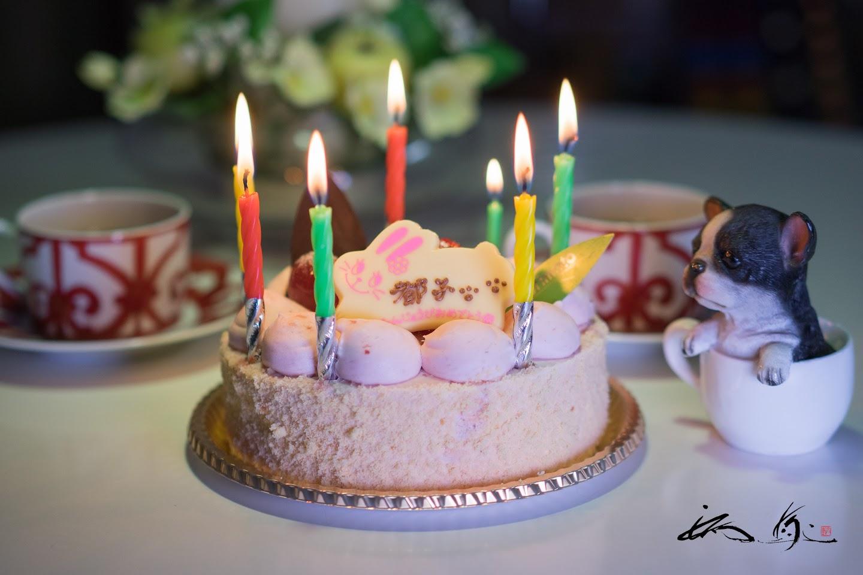 感謝のバースデーケーキ