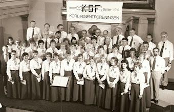 Photo: Kordirigentforeningens 70 års fødselsdag, København 12. april 1989