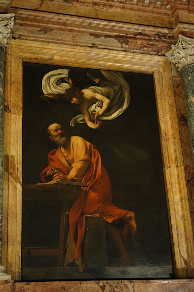 An example of a Caravaggio painting
