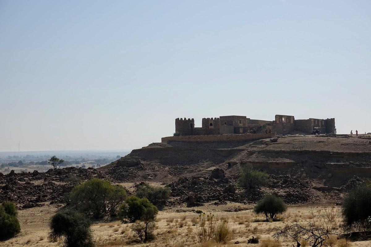 Thar. Desert Camel Trekking Day 3. Khaba Fort