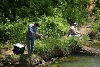 Photo: Fishing at Golf Link Bridge on Fishing River....