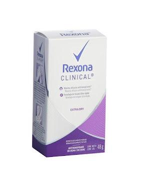 Desodorante REXONA Women   Clinical Extra Dry x48g