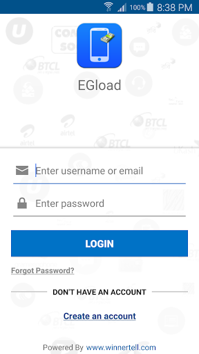 EGload Mobile Recharge