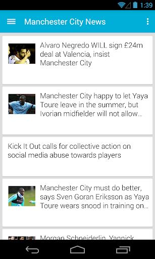 BIG Man City Football ニュース