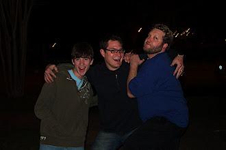 Photo: Sean, Paul & Garney having some fun.