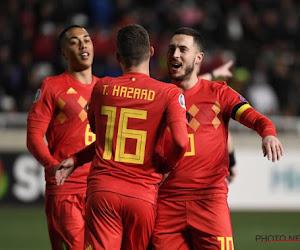 ? Jubilaris Hazard schiet zich naast Van Himst en Voorhoof tot tweede beste schutter aller tijden voor België