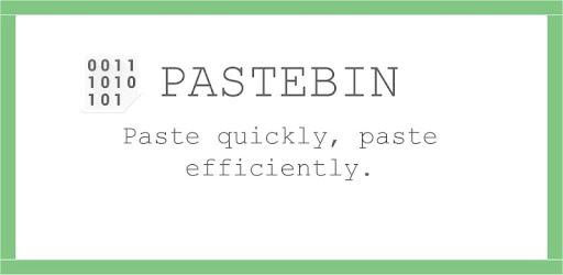 Pastebin – Applications sur Google Play