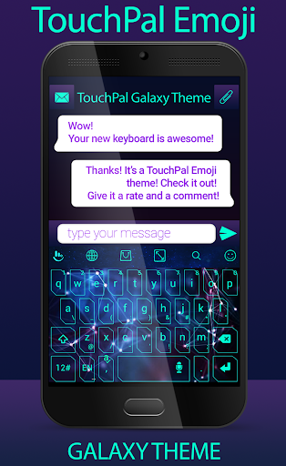 TouchPal Emoji Galaxy