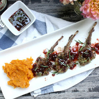 Lingonberry Lamb Pops