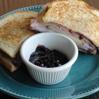 Blackberry Apple Sandwich with a Kick