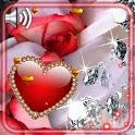 Diamonds Love Live Wallpaper icon